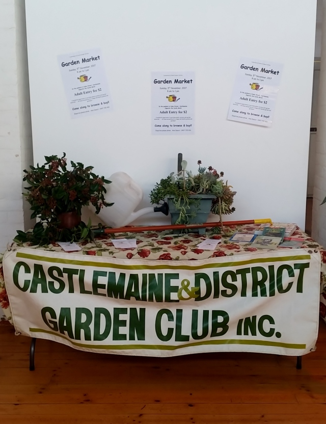 Display at Castlemaine Market Building